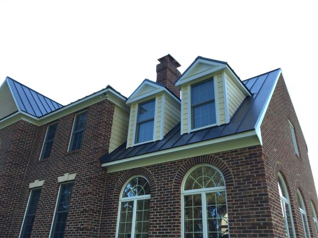 Leesburg, VA - Metal roof repairs completed due to hail damage in the area.