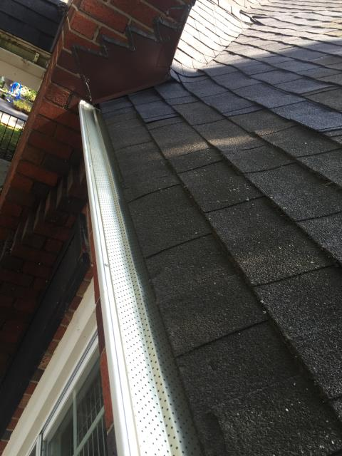 Arlington, VA - Roof repair and installation of leaf relief to prepare for the Fall and Winter!