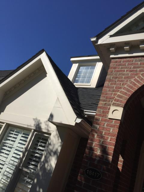 Reston, VA - Completed a valley shingle repair to stop leak