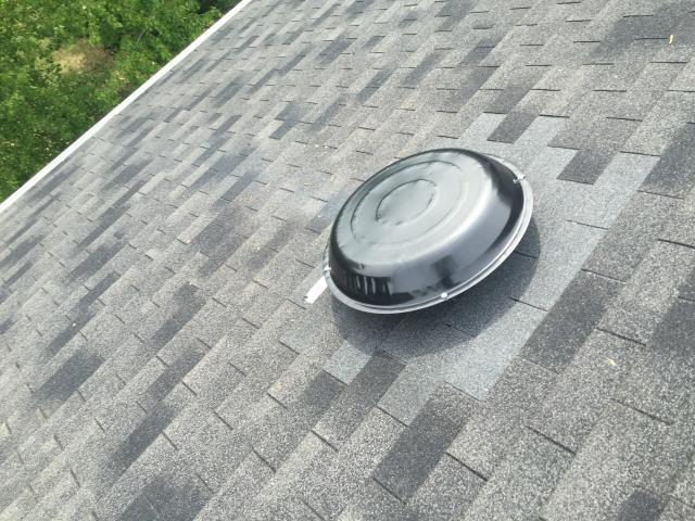 Herndon, VA - New attic fan installed