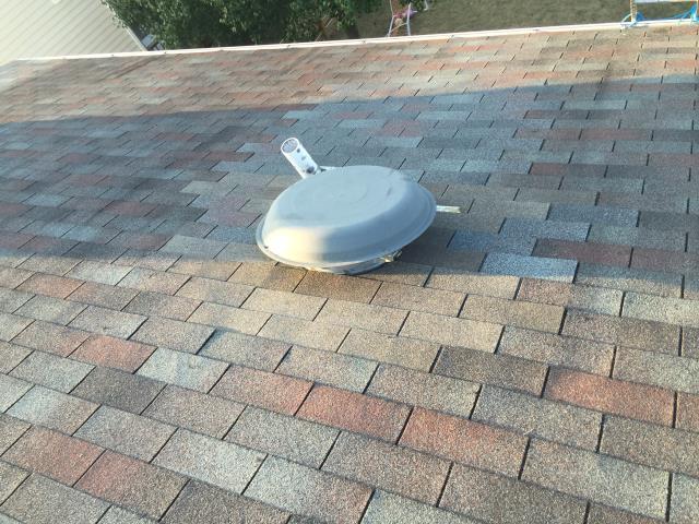 Ashburn, VA - Attic fan installed. Will be much cooler this summer.