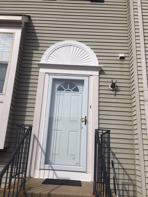 Dumfries, VA - Update your home's look with decorative siding such as an accent sunburst or other siding improvement.