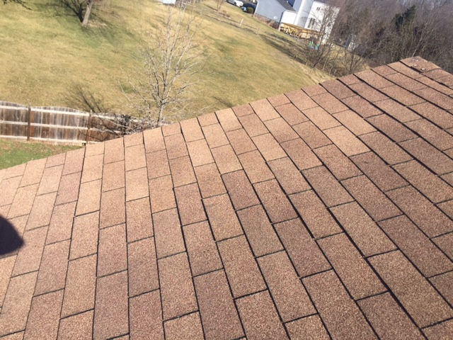 Chantilly, VA - Roof repair loose and lifted shingles- now sealed and watertight