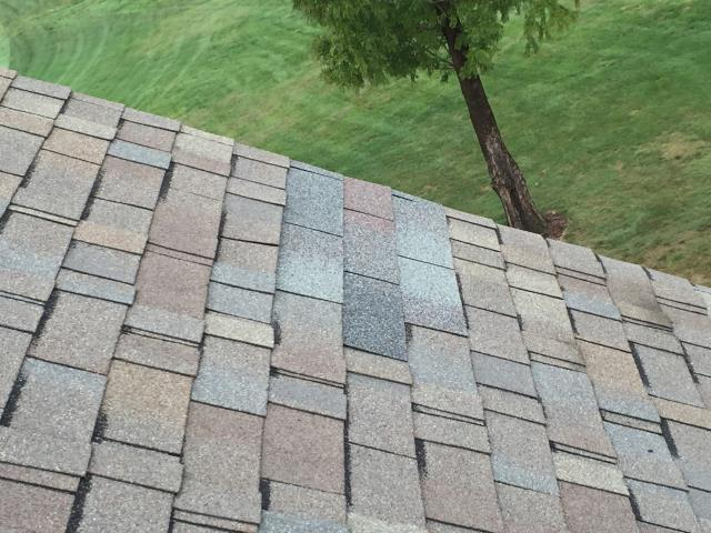 Leesburg, VA - Shingle repair - replace discontinued damaged shingles