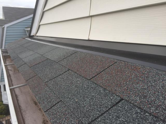 Fairfax, VA - Shingle and flashing repair due to wind damage