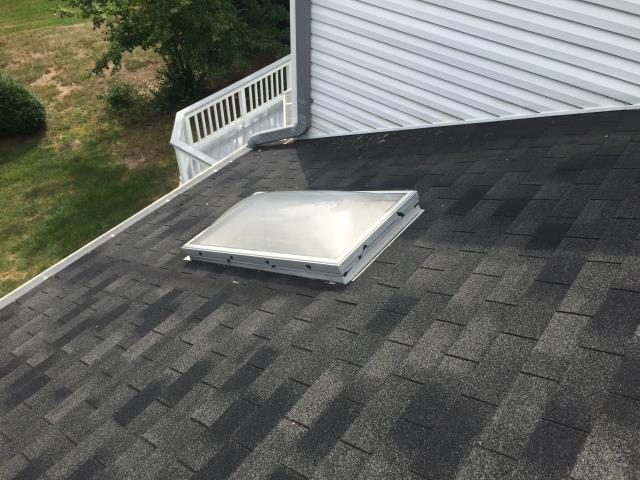 Herndon, VA - Skylight flashing to fix leak