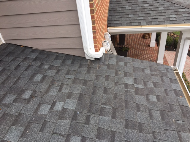 Ashburn, VA - Gutter and Downspout repair for better water flow