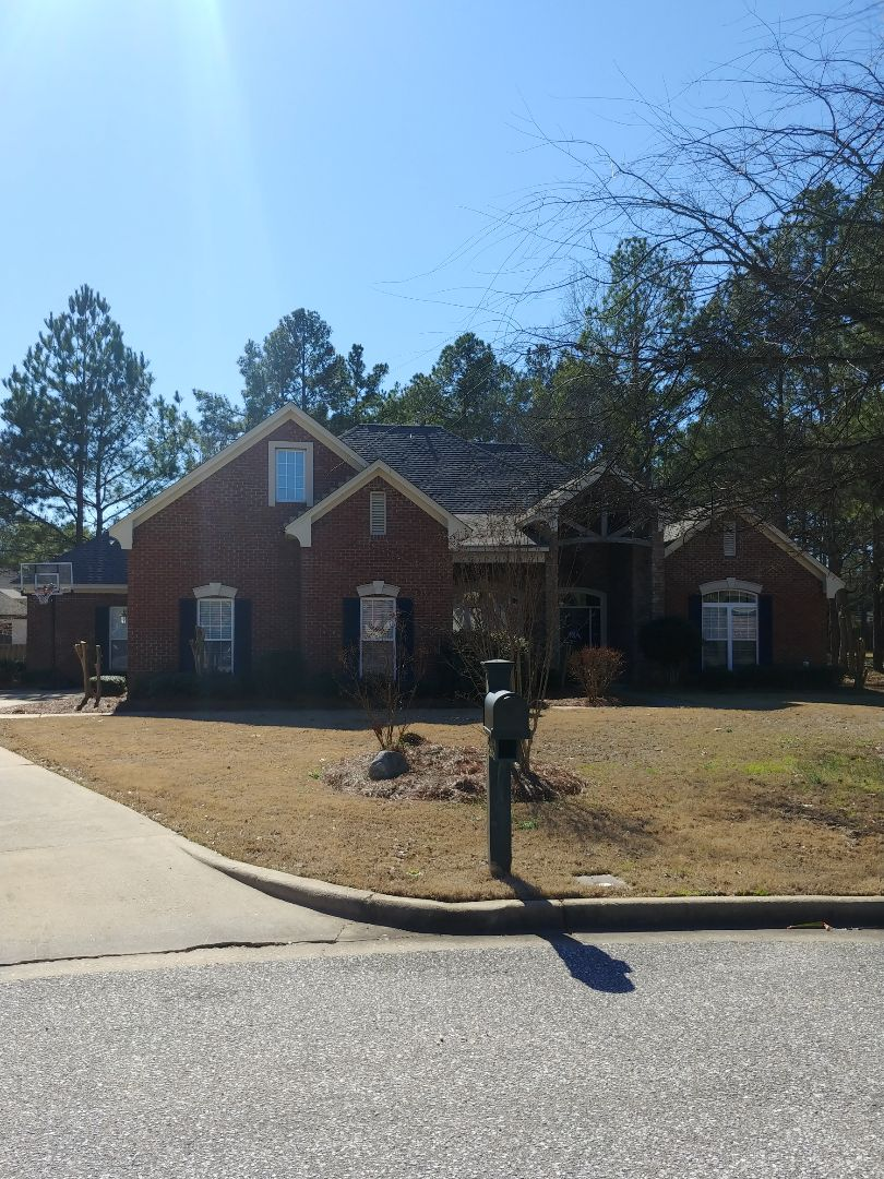 Montgomery, AL - Weatheredwood GAF Timberline Re roof just completed on Montgomery
