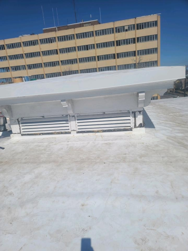 Montgomery, AL - Just finished up TPO flat roof on Montgomery Historical Society.