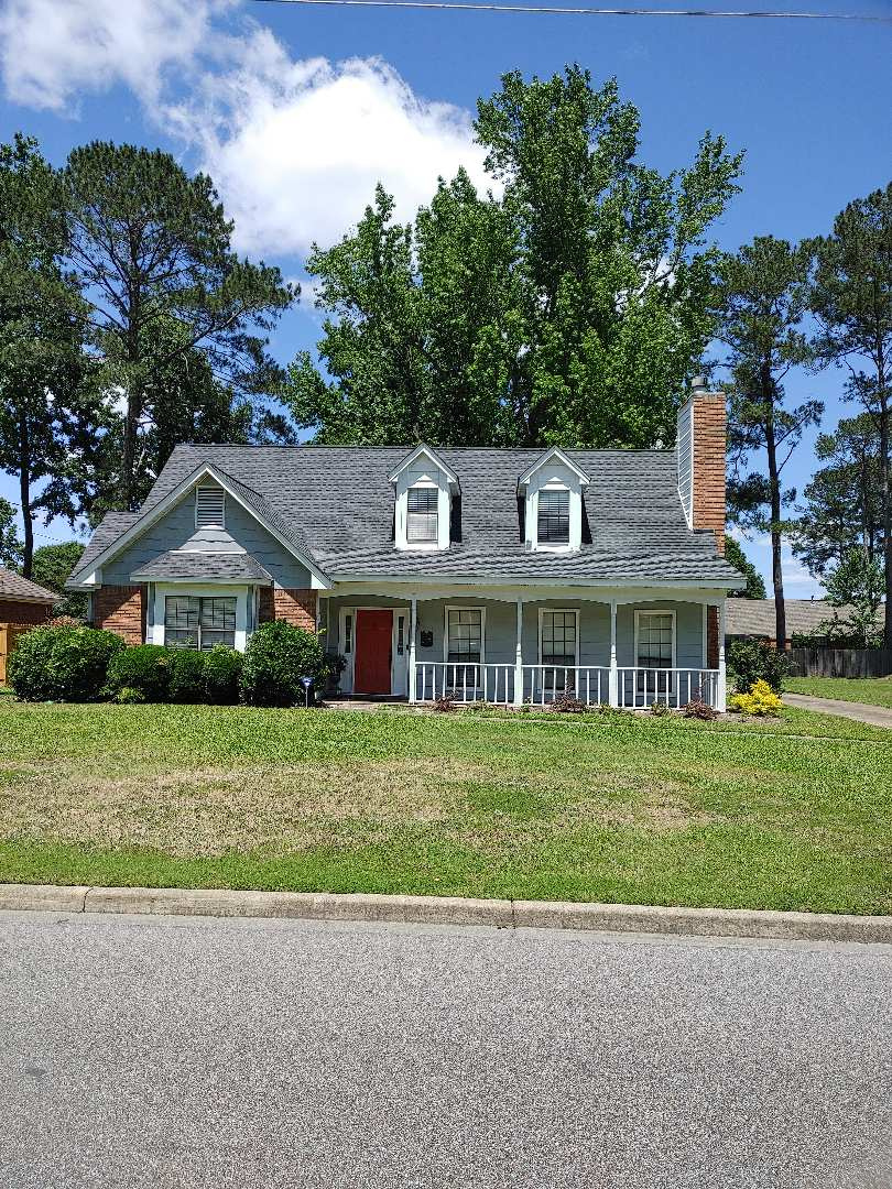 Montgomery, AL - New reroof in Montgomery. GAF Timberline HD Charcoal