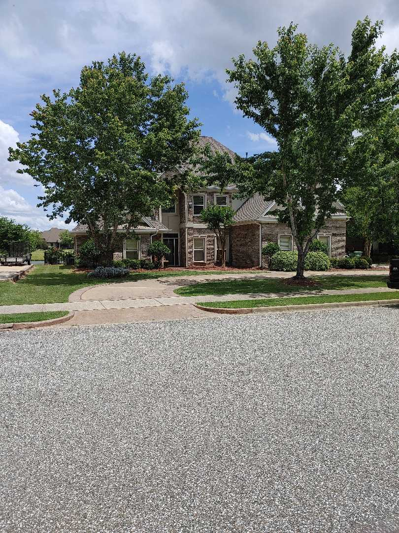 Montgomery, AL - Provided free inspection for hail damaged roof.  Found damaged shingles and wind damage.  Provided free quote for full roof replacement using GAF Timberline HD weathered wood shingle.