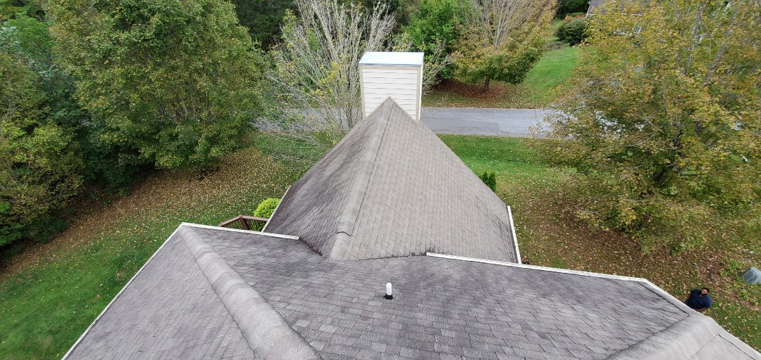 Fletcher, NC - Onsite with another roofing estimate. Independent Construction Services is a GAF Master Elite roofing contractor with all appropriate licenses and insurance to take care of your roofing, siding, guttering and painting (exterior and interior) needs. We also do church roofs and steeple cleaning, as well as algae and mildew treatments.� Centrally� located� in� Mills River,� NC,� we are able to service both the greater Asheville and Hendersonville areas. Call us today at (828) 808-8482