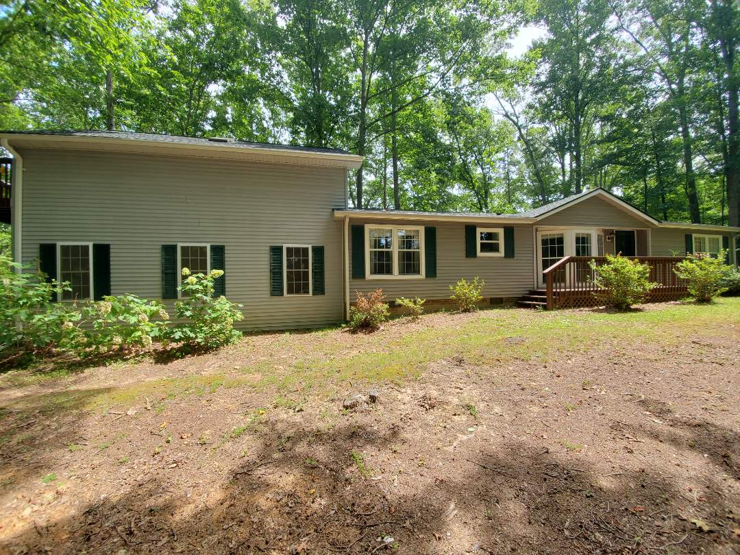 Fairview, NC - New GAF Timberline Roof in Hunter Green!