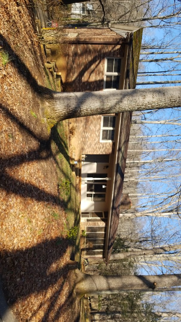 Candler, NC - GAF Master Elite Roof Replacement Estimate. Chimney Repair Work. Gutter Guard Replacement.