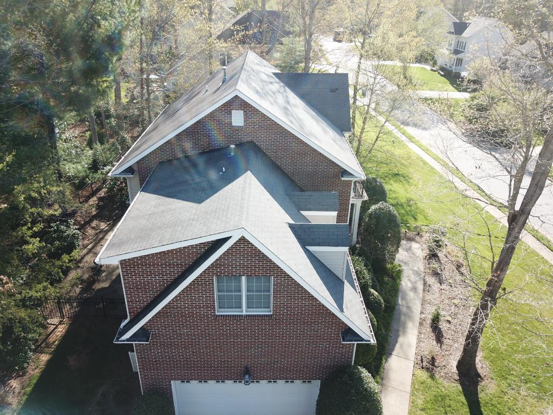 Asheville, NC - New GAF roof coming right up!#Independentroofs.com#ashevilleroofing#ashevillegutterrepair