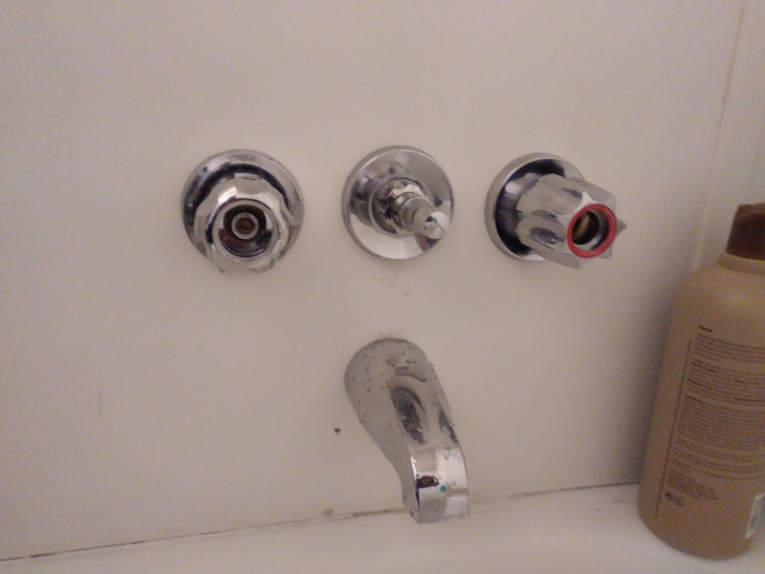 Troubleshoot shower faucet