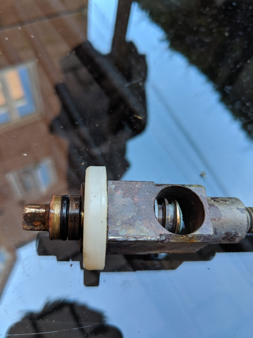 Fixed lawn hydrant in condo