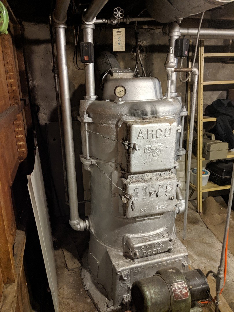Repairs to old heating system