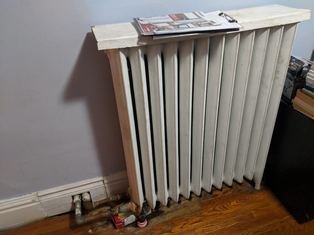 Quoted to replace broken cast iron radiator