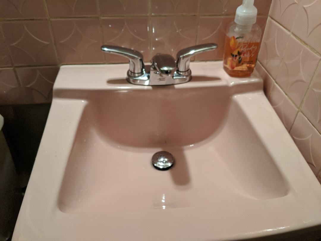 Install the American Standard Basin faucet