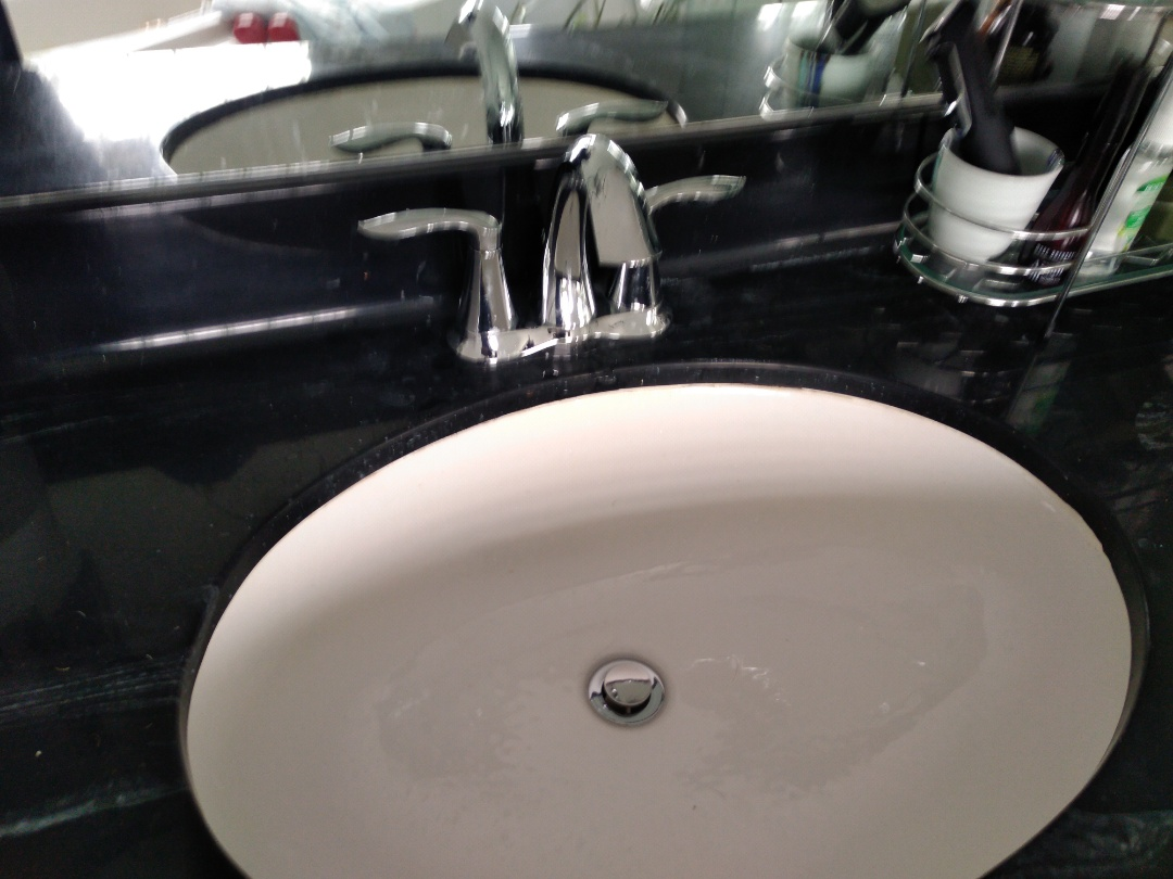 Supply and Install two Moen Eva faucets