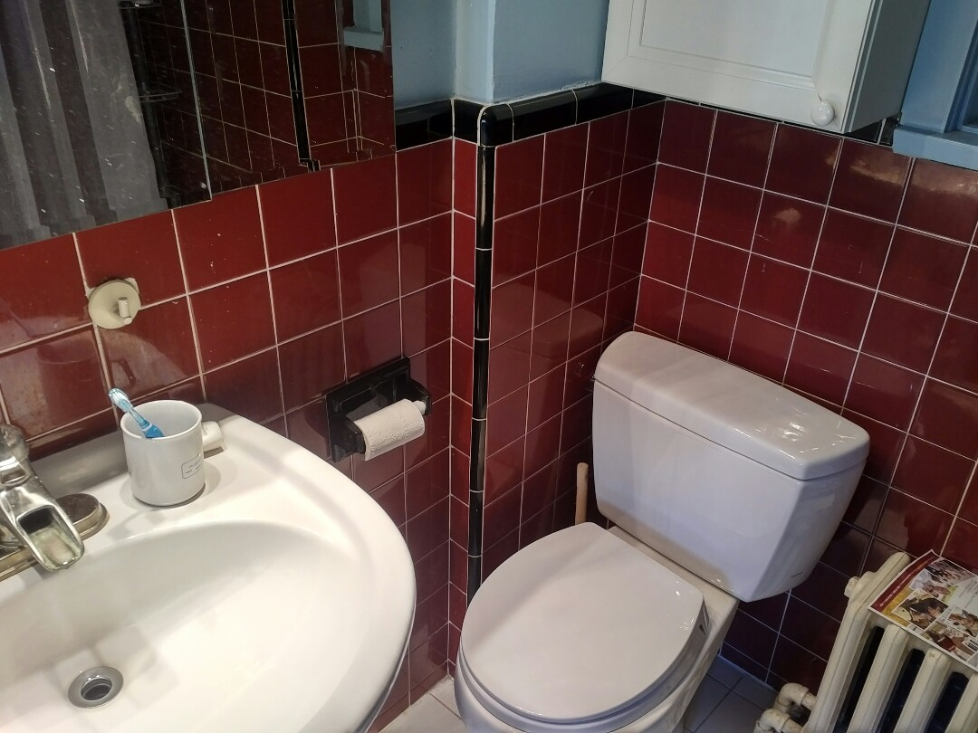 Replace toilet seal and tank parts