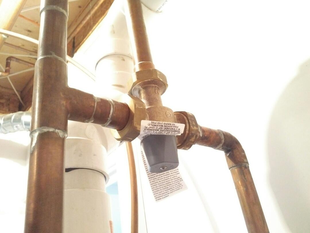 North York, ON - Replace @WattsBrand domestic mixing valve