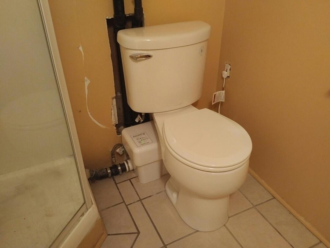 Liberty Ascent II macerating toilet