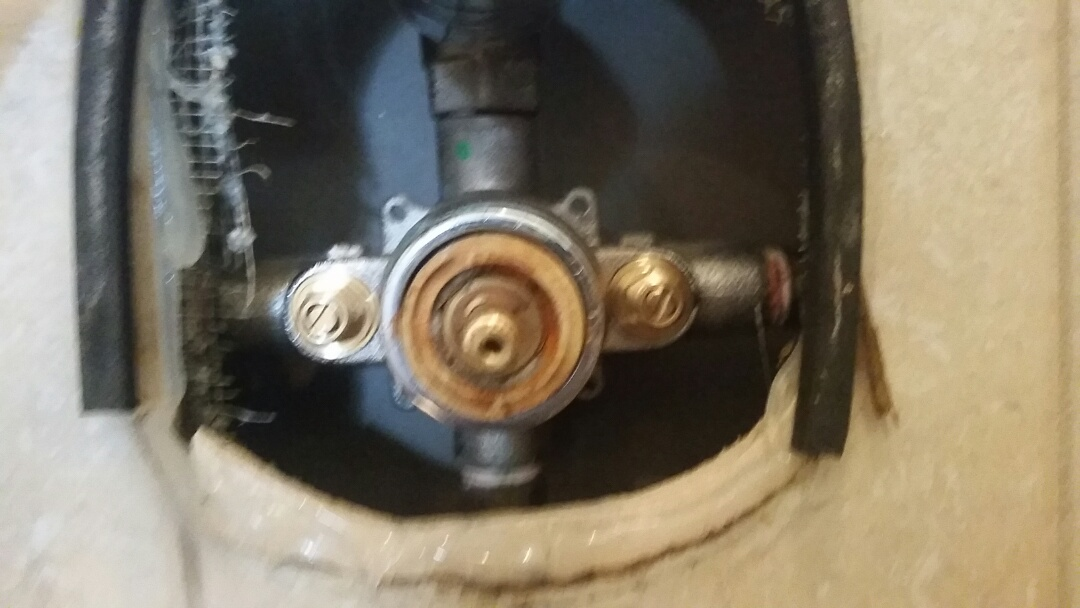 East York, ON - Repaired shower