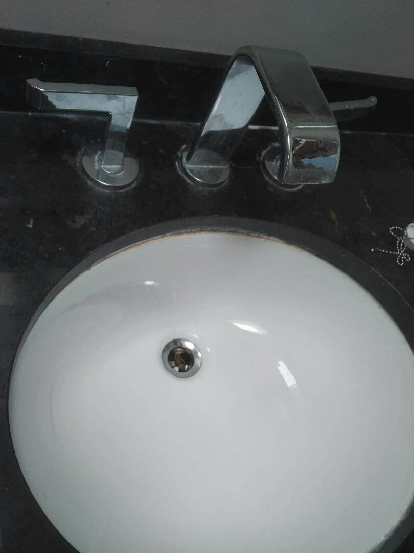 Replaced basin drain