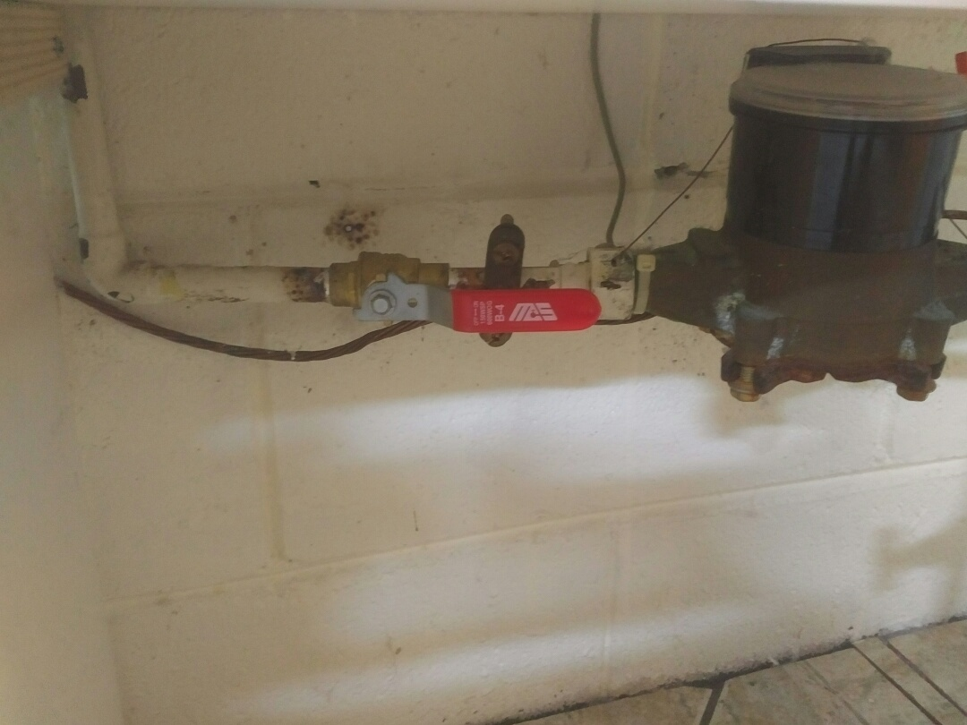 Mississauga, ON - Installed second shut-off valve at meter