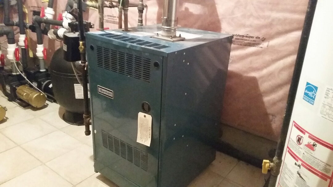 Restart and troubleshoot pool heater