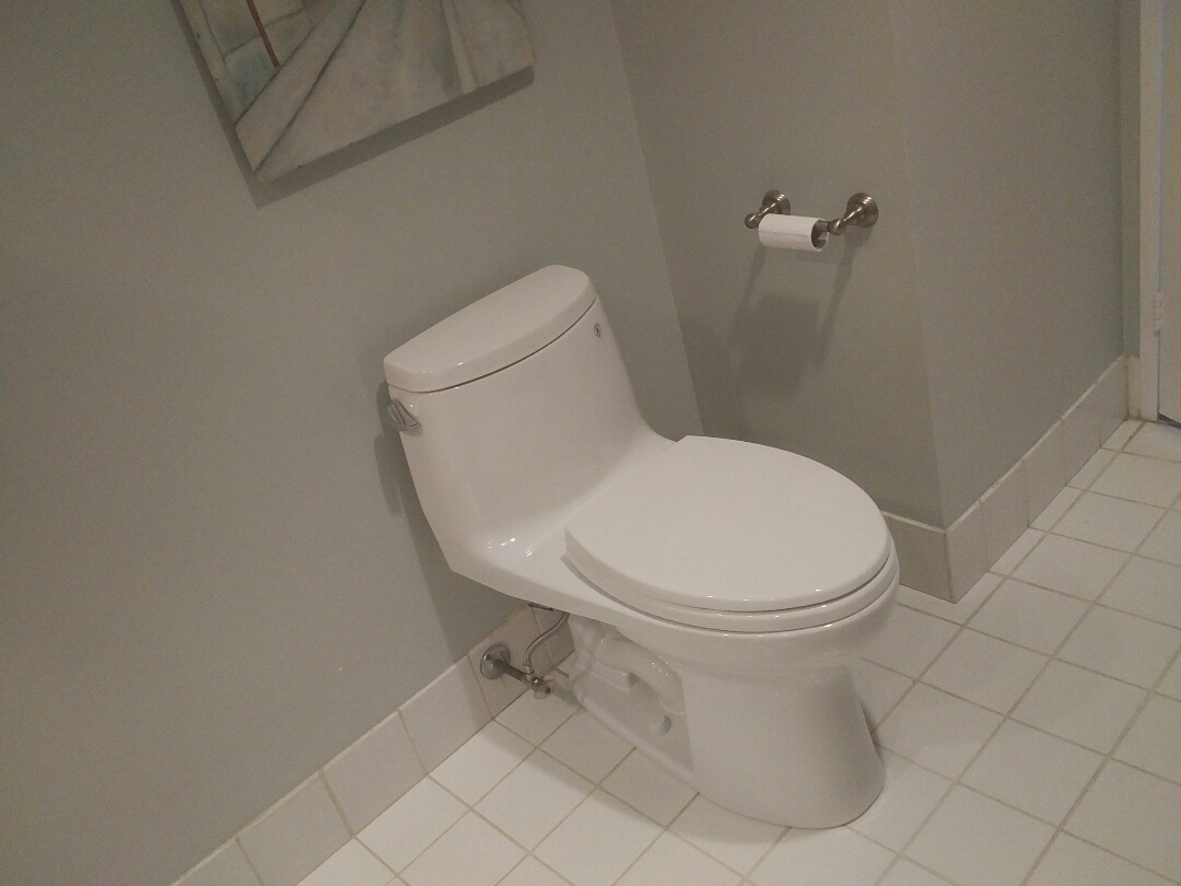 Installed owners @TotoUSA Ultramax toilet
