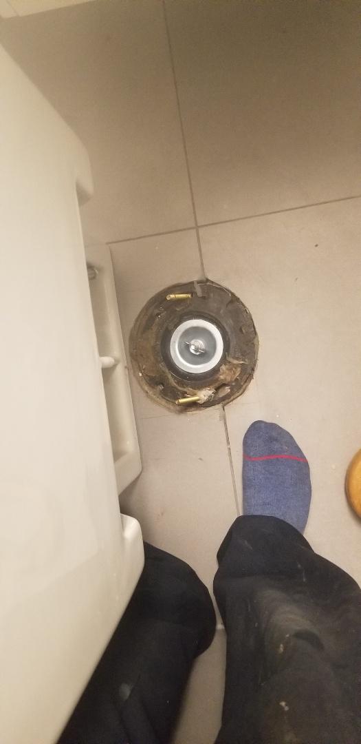 Capped blocked drain