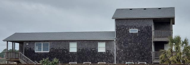 Kitty Hawk, NC - Another Great roofing job using GAF HDZ Shingles colored Oyster Gray in the northern OBX area by Gallop Roofing & Remodeling Inc an A+ rated BBB company.