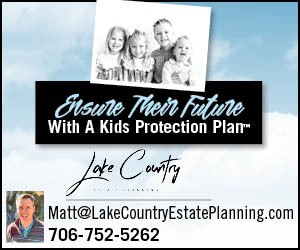 Madison, GA - Creating a living trust to avoid probate. Creating a Kids Protection Plan to name guardians and ensure children are always cared for by people you choose.