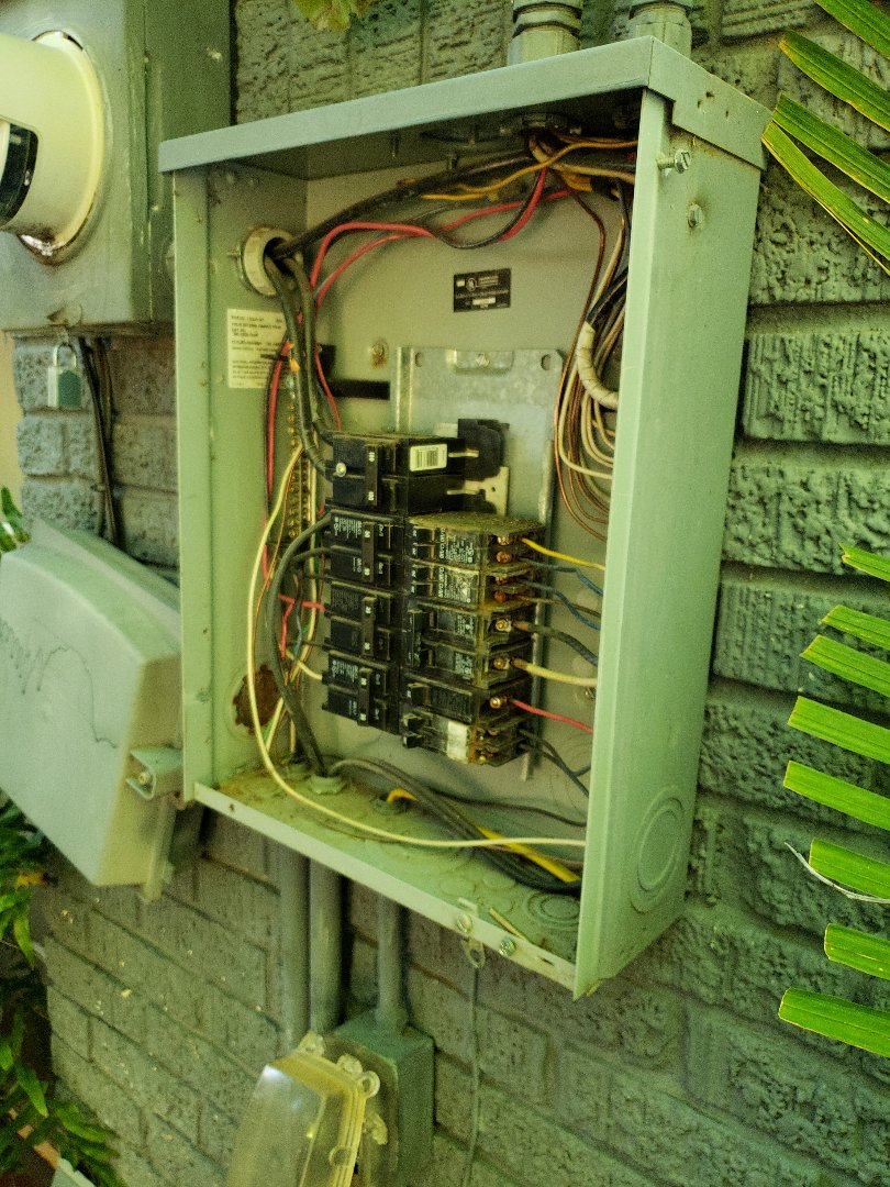 Oklahoma City, OK - Breaker replacement in sub panel for pool equipment.