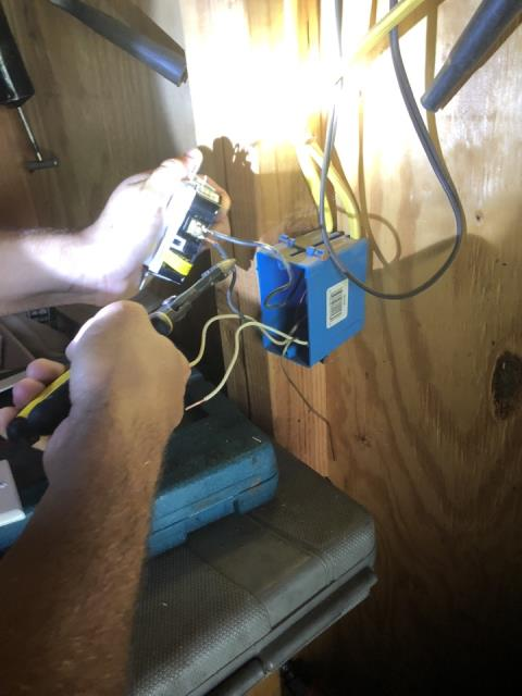 Norman, OK - Diagnostic and Repair of Power Loss to Shed. Call Edge Electric for the best electrician in Okc.