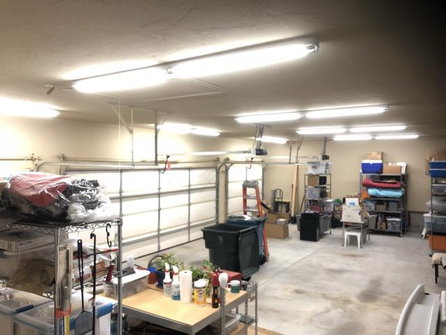 Midwest City, OK - Installing LED Fixtures In Garage