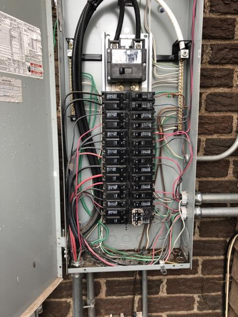 Oklahoma City, OK - Diagnostic and Repair of Power Loss to half of house