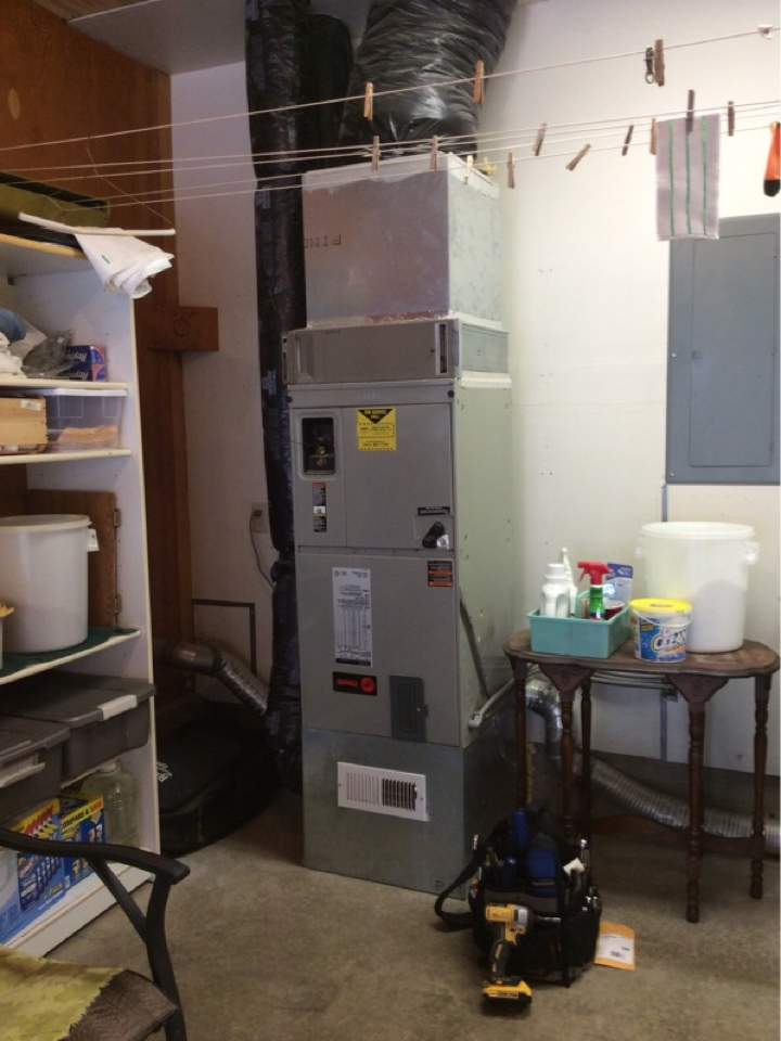 Cloverdale, OR - Maintenance and repair for a Trane electric furnace and Honeywell electronic air cleaner