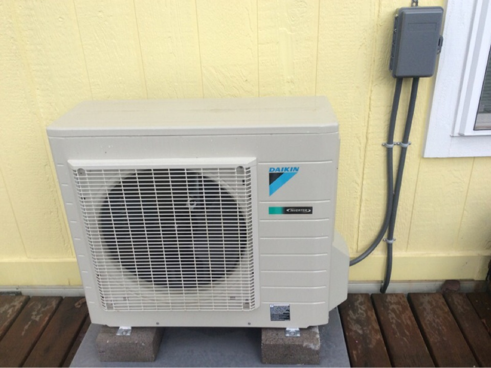 Tidewater, OR - Service maintenance visit for a Daikin Ductless Heatpump in Tiderwater Or