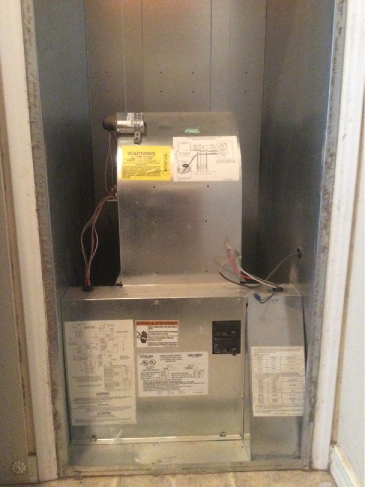Otis, OR - Service call to tune up an electric furnace in Otis Or