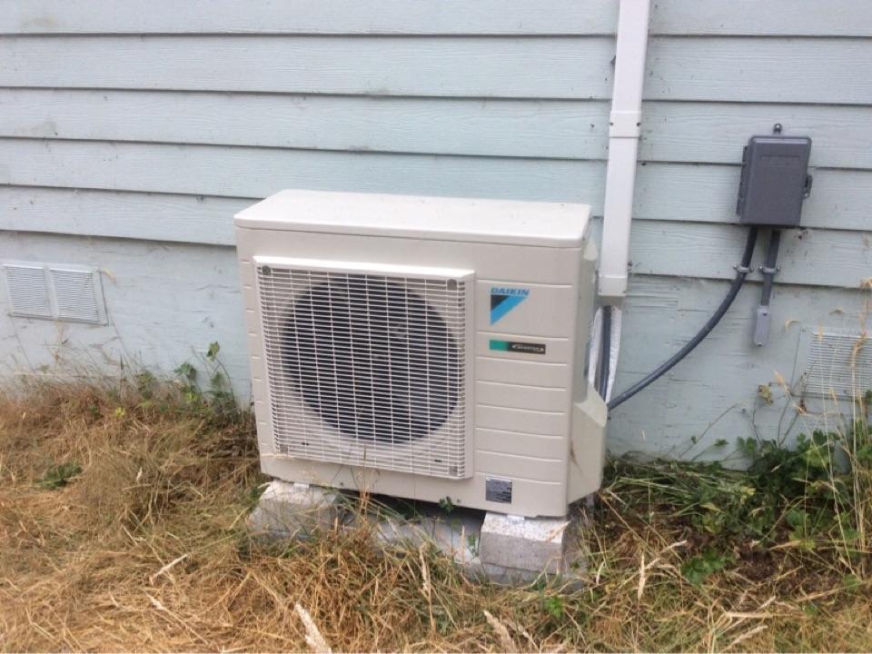 Otis, OR - Maintenance visit for a Daikin Ductless Heat Pump in Otis, Oregon