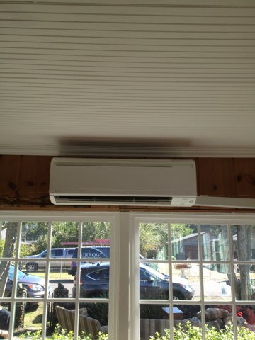 Neskowin, OR - Installation of a daikin ductless heat pump dual system.