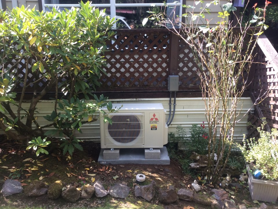 Otis, OR - Heating and air conditioning visit to install a Mitsubishi hyper heat ductless Heatpump in Otis Or