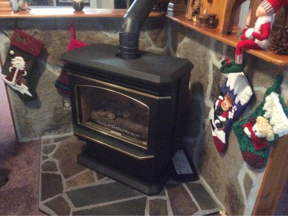 Otis, OR - Emergency service call for a gas fireplace in Otis Oregon
