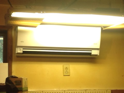 South Beach, OR - Installation of a Fujitsu Ductless Heat pump in South Beach, Oregon