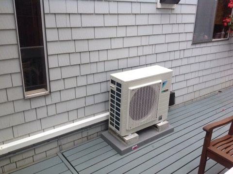 Otter Rock, OR - Installation of a Daikin Ductless Heat Pump in Newport, Oregon