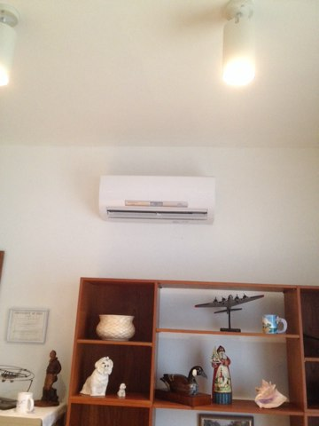 South Beach, OR - Maintenance call on two Mitsubishi Ductless Heat Pump Systems